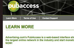 Pubaccess website redesign view 4
