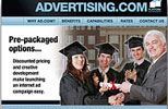 Advertising.com Education Category Microsite view 2